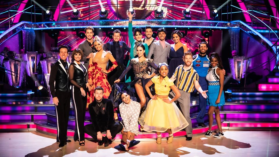 The Strictly stars!