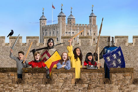 kids adventure tower of london experience