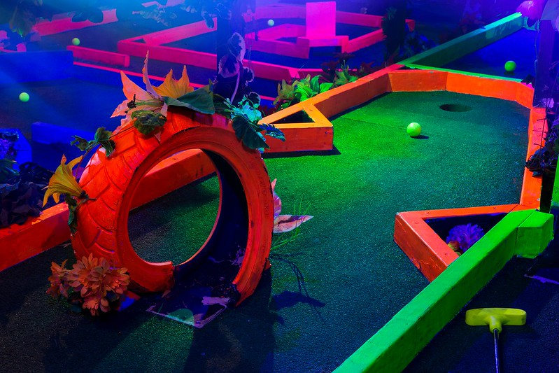 Plonk Crazy Golf in Camden