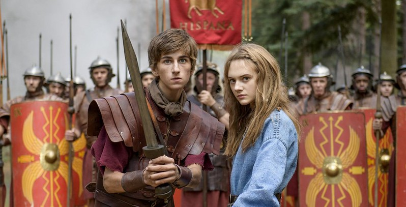 Scene from the movie horrible histories
