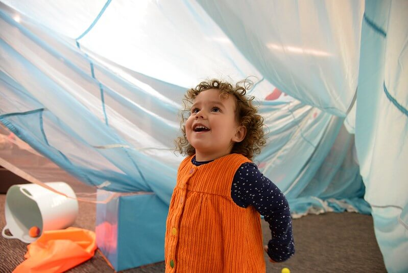 Barbican soft play for babies