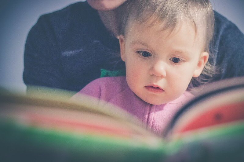 2 year old reading