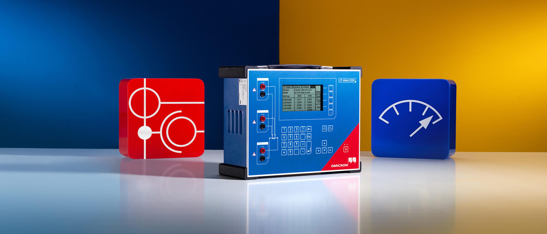 Omicron, CTA, CT Analyzer, CT-Analyzer, Stromwandler, Stromwandlerprüfung, Bürdenmessung, Magnetisierungskennlinie, Übersetzungsmessung,