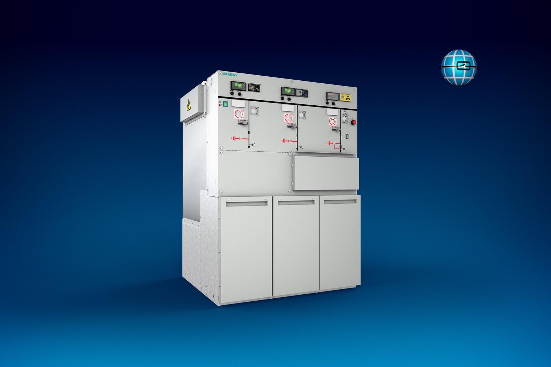 8DJH 24, 8DJH, Ringkabelschaltanlage, Siemens, Schaltanlage