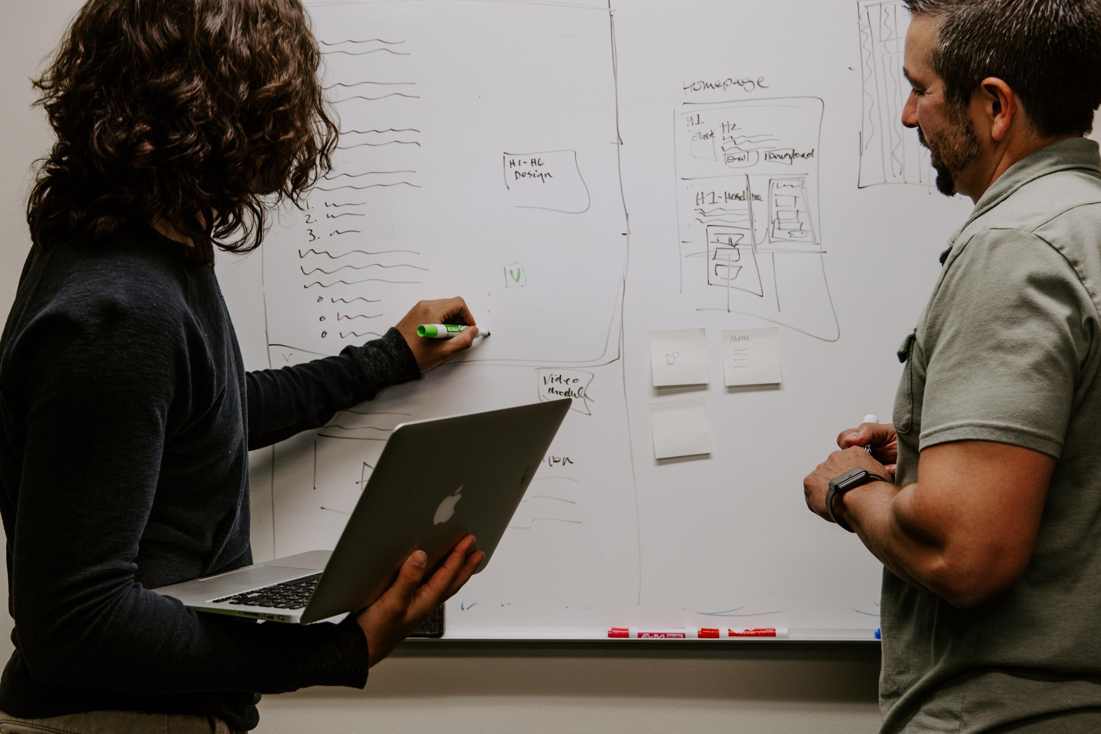Brainstorming content for a presentation deck