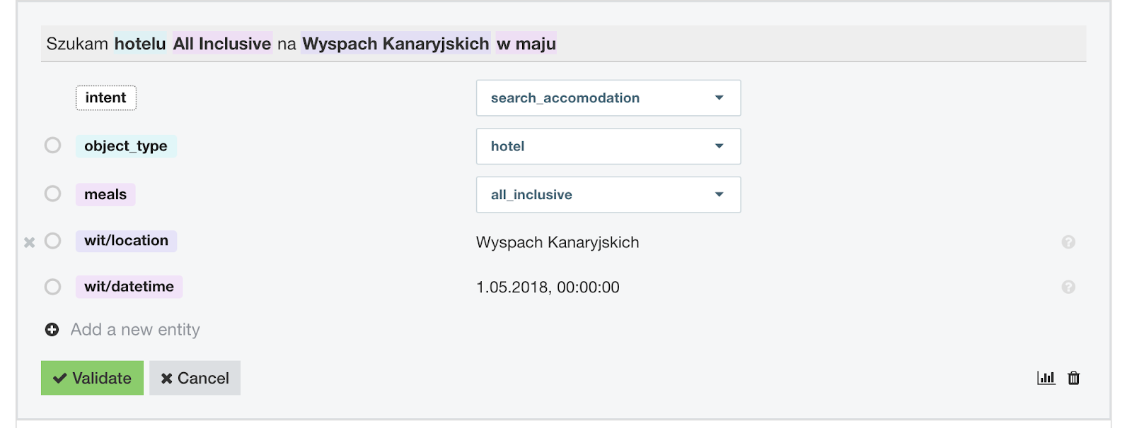 Testing with more detailed search intent.