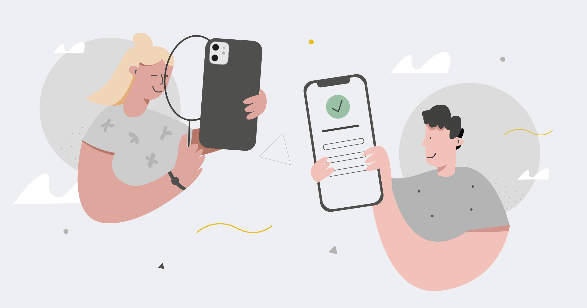 people using mobile apps with good usability and accessibility