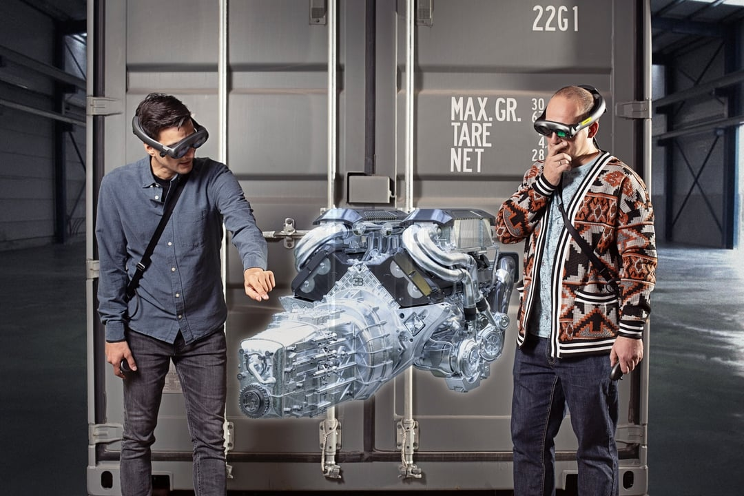 Collaboration in mixed reality