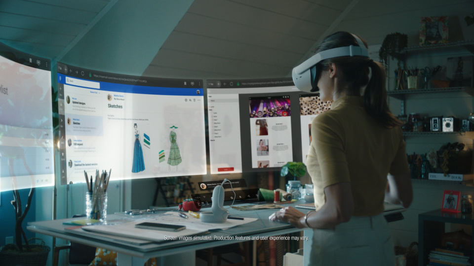 Infinite office by Facebook