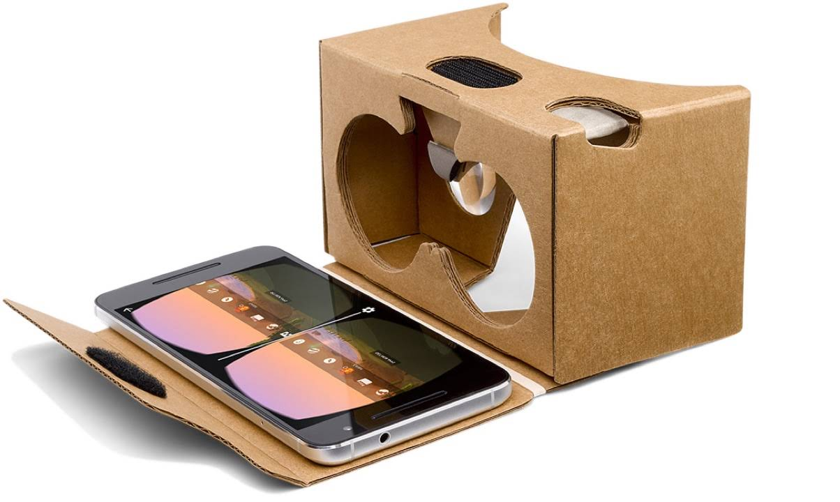 Google Cardboard, an affordable way to experience virtual reality