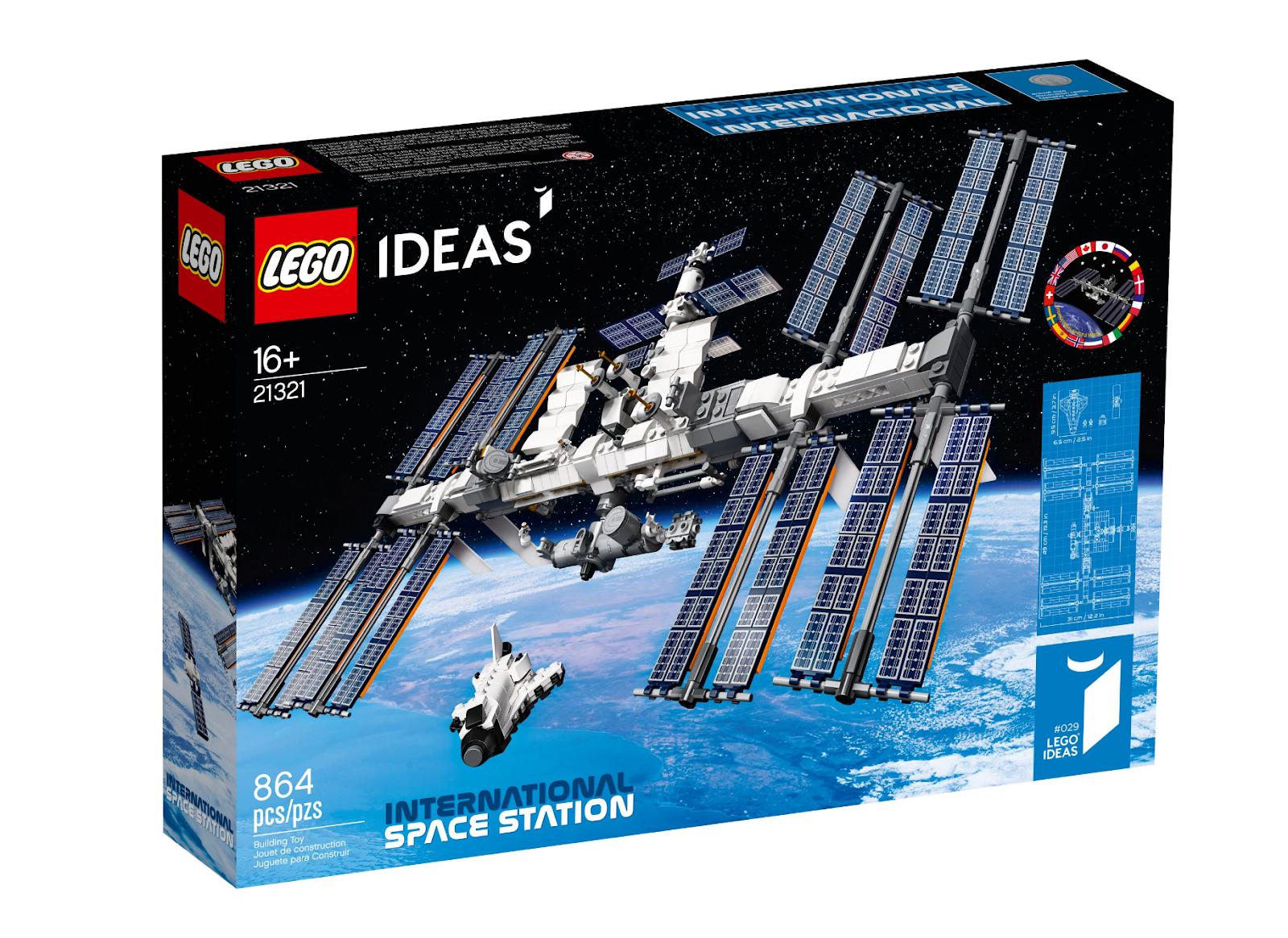 The International Space Station LEGO set