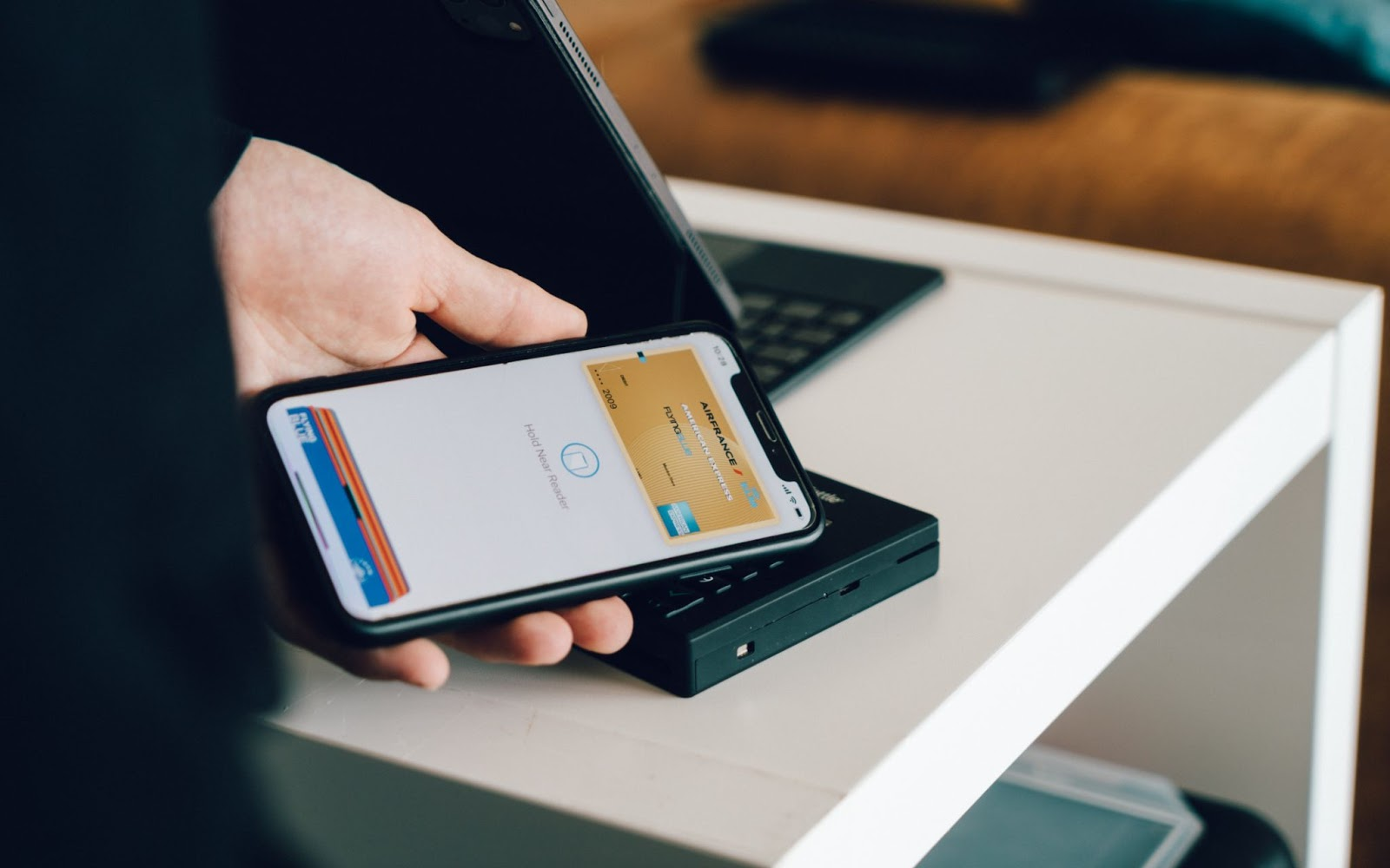 paying with a mobile wallet