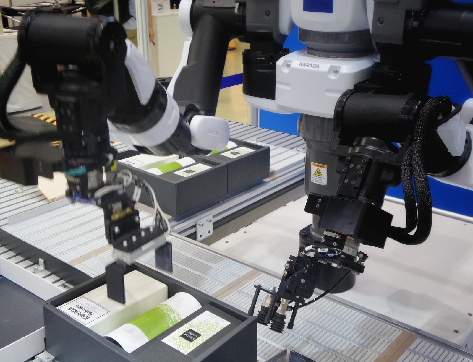 IoT robotics packing books