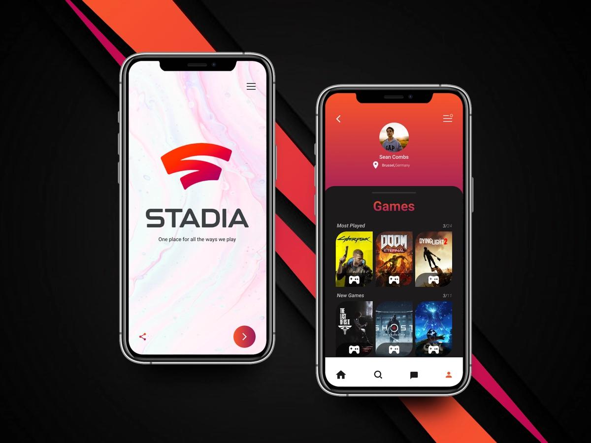Google Stadia App video game streaming