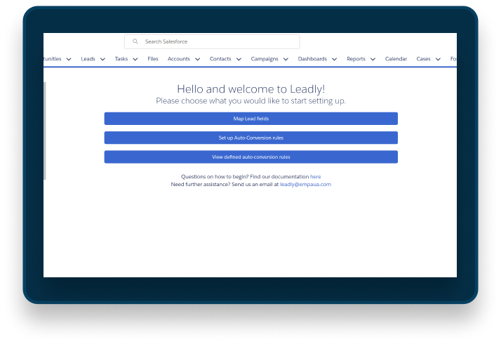 Leadly EMPAUA Salesforce Partner