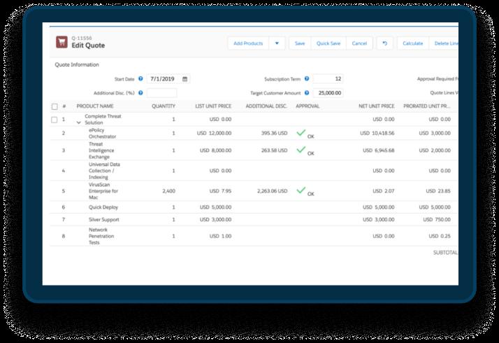 Salesforce Revenue Cloud EMPAUA