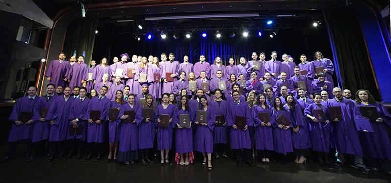Fotografía de los graduados