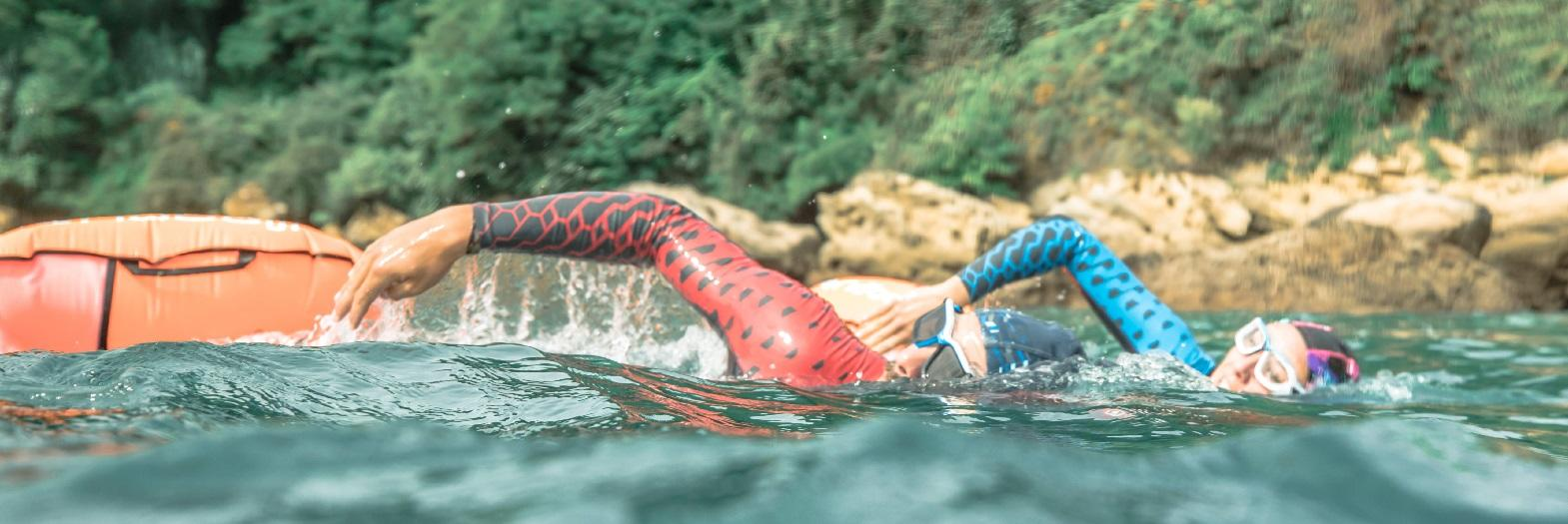 Open Water Swimming Techniques : Breathing and Orientation