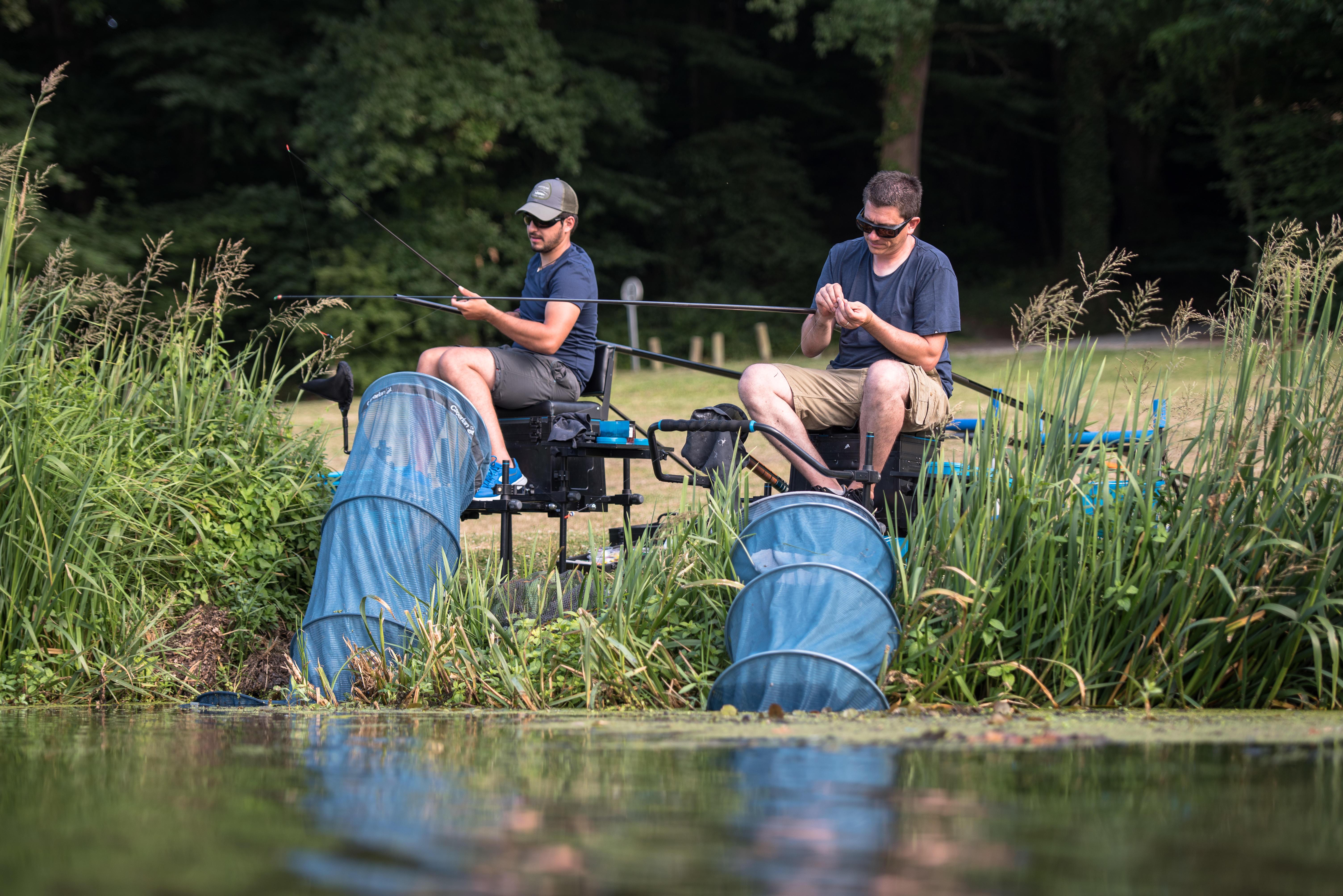 GEAR TO BEGIN LEDGERING FISHING