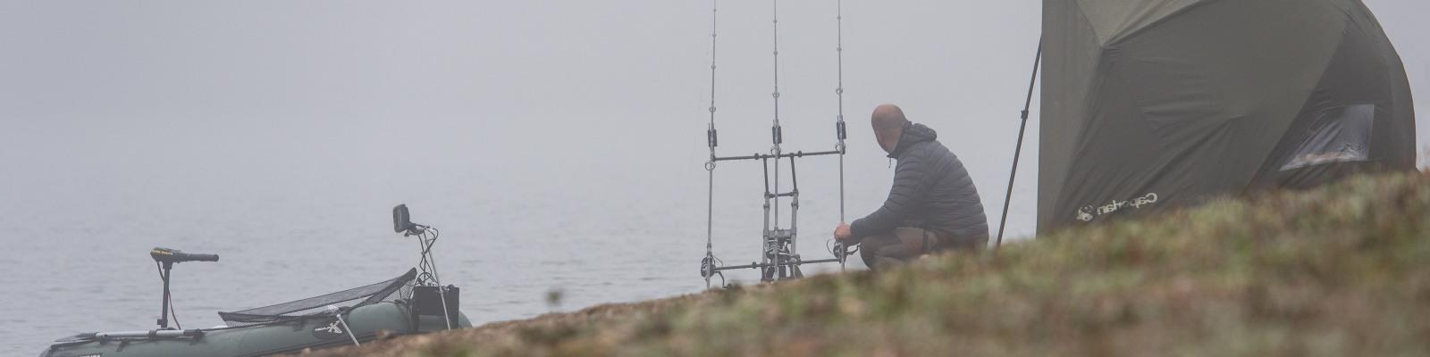 Set Out Your Bivouac for a Long Fishing Session