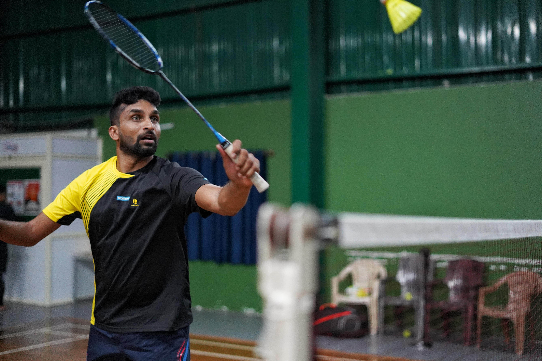 Mr Anand Kumar - Para Badminton Champ