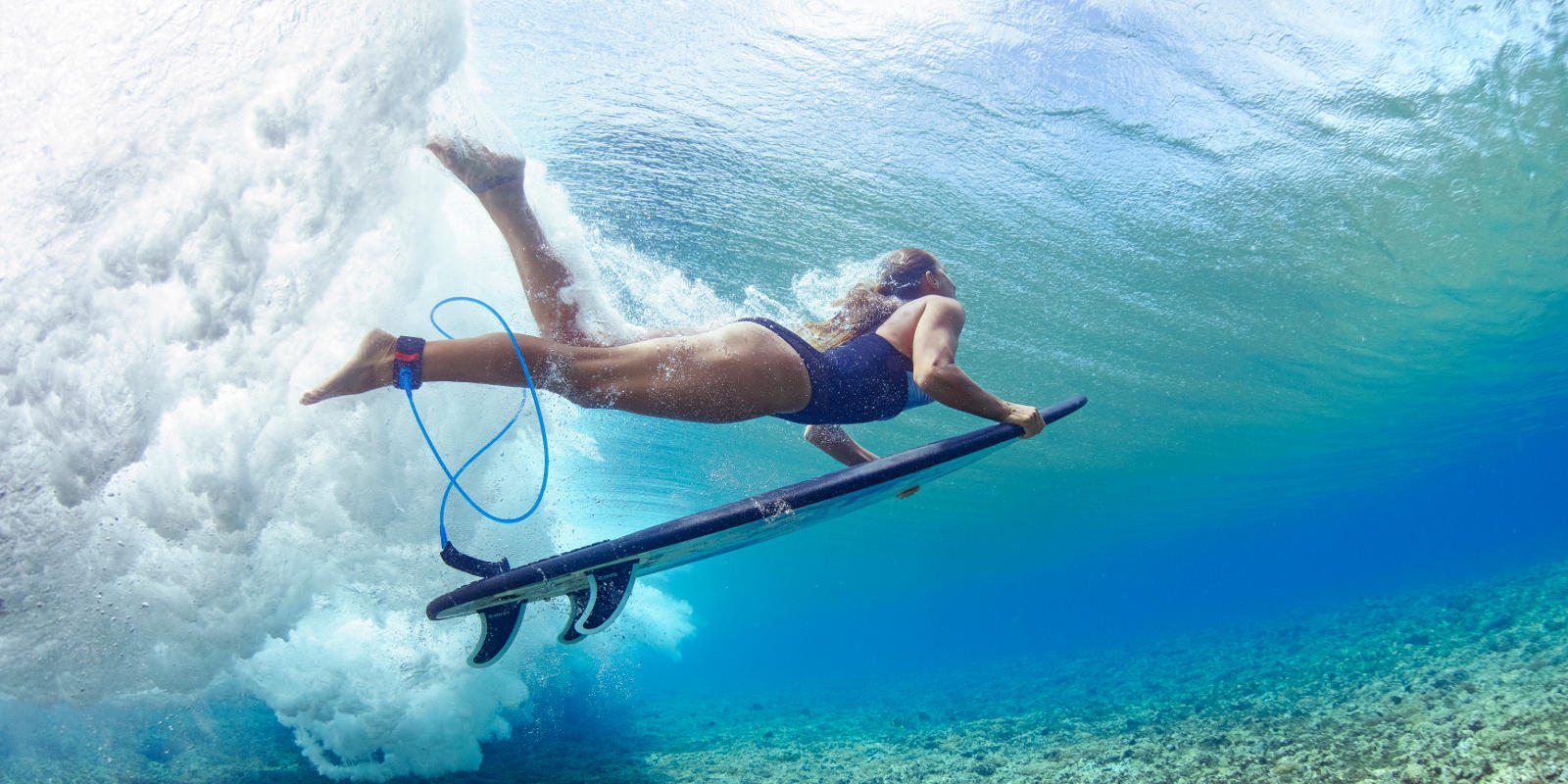 The benefits of surfing and bodyboarding