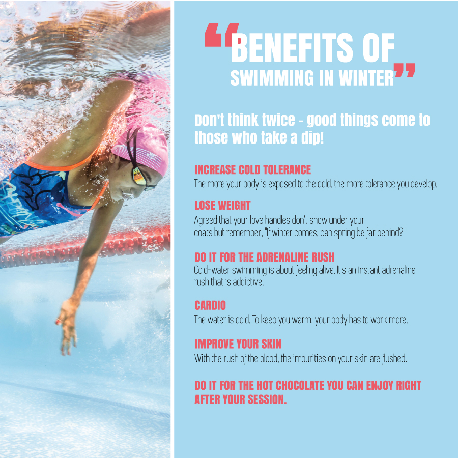 Benefits of Swimming in Winter