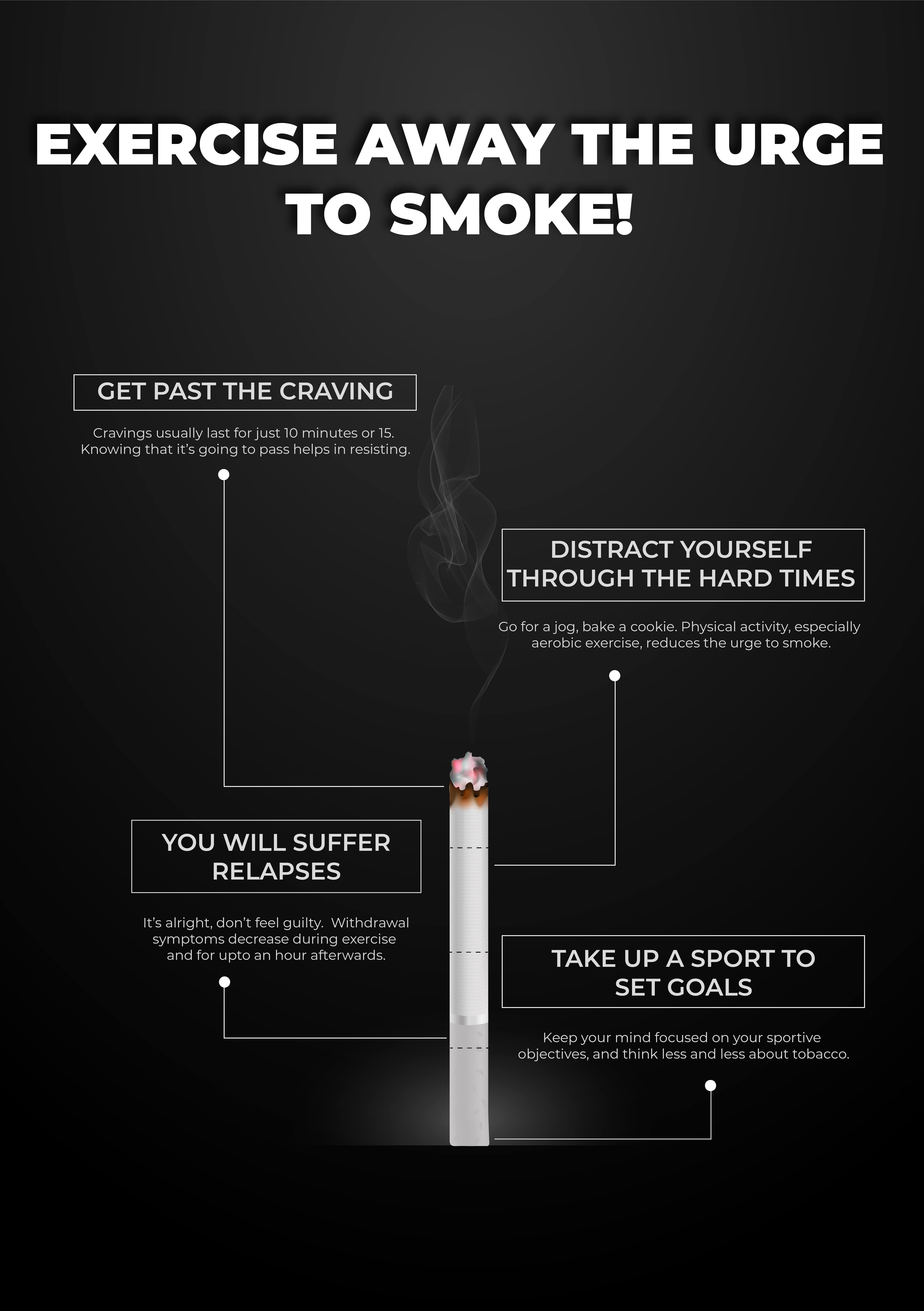 Exercise away the urge to smoke