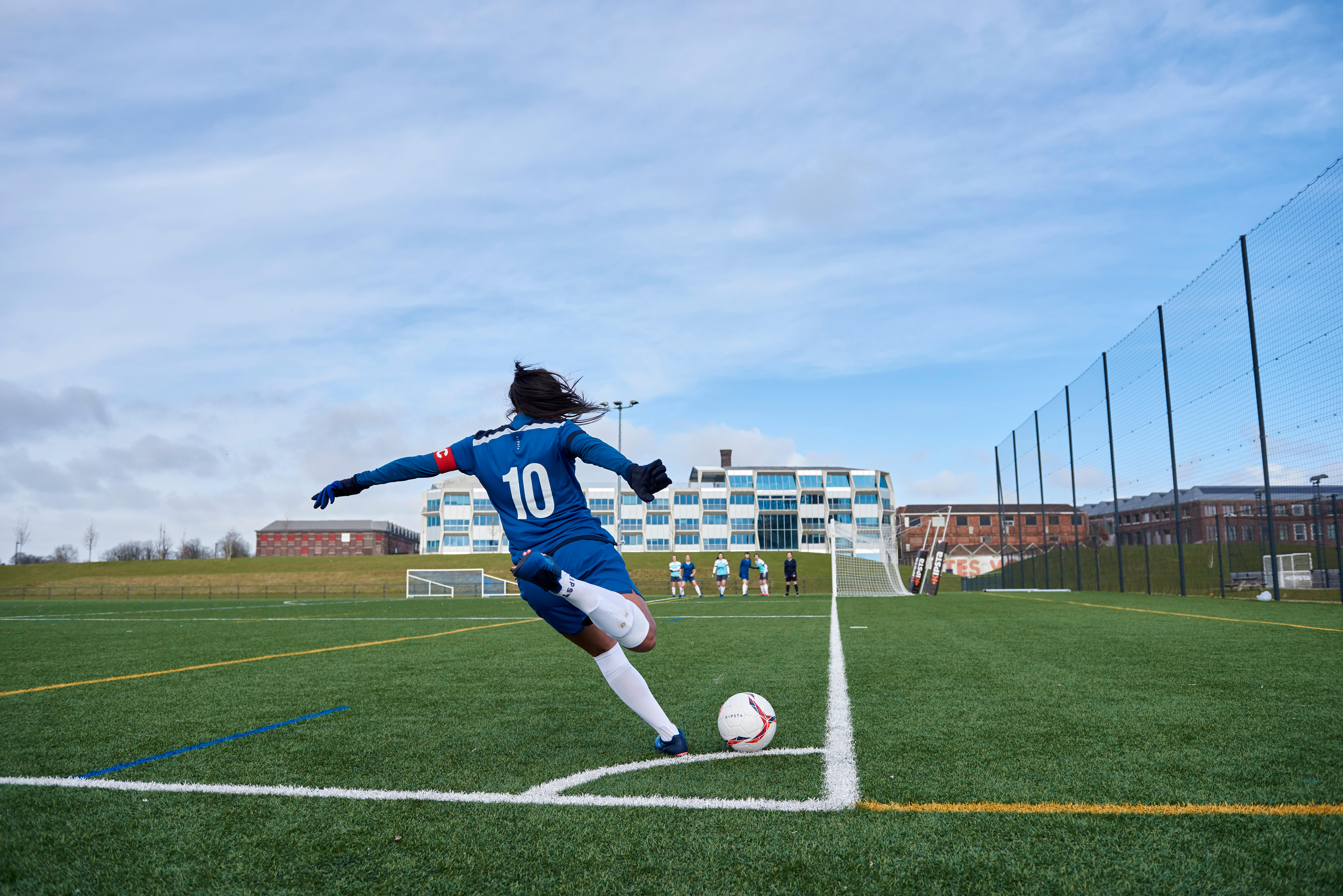 Women's Football - Niveda Manjunath on playing from the age of 8