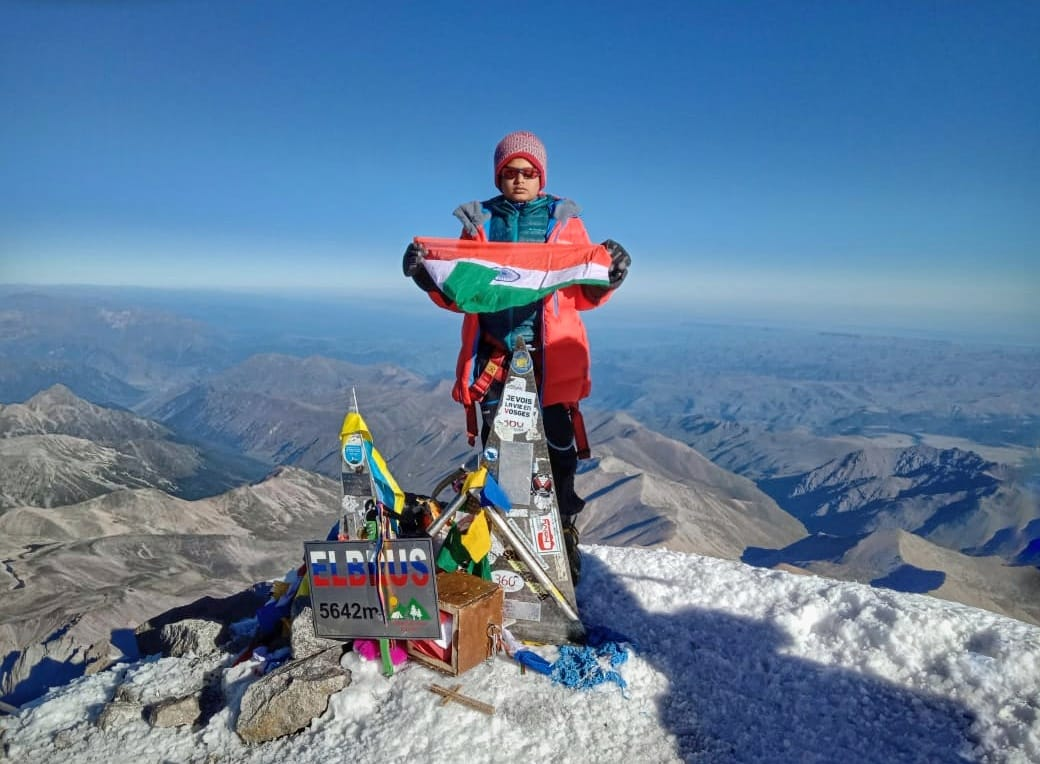 Sai Kawde - Summiting Mt. Elbrus at the age of 10