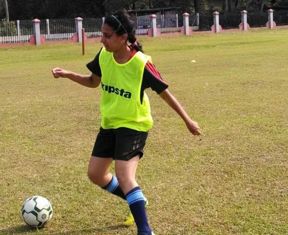 Women S Football Riddhi Ramesh From Playing Football To Building A Turf