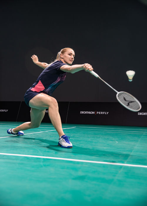 backhand smash technique in badminton