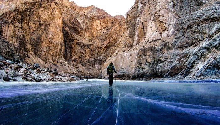 chadar trek in himalyas