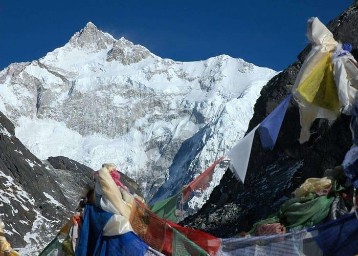 Goechala trek in himalayas