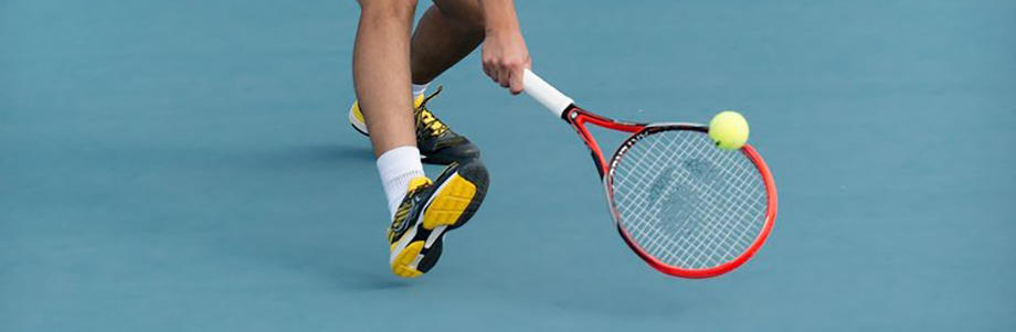 Consider cushioning in your tennis shoes