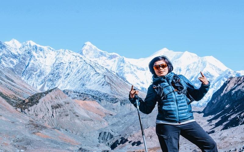 Sanghmitra raikwal trekking experience