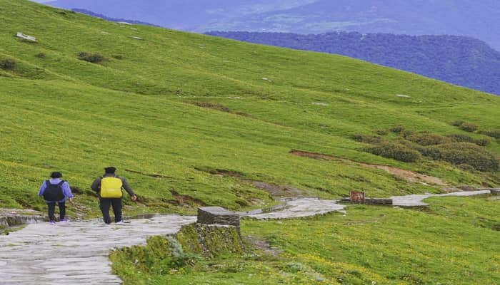 Way from Chopta to Tungnath