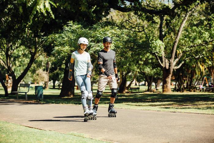 fitness roller skating