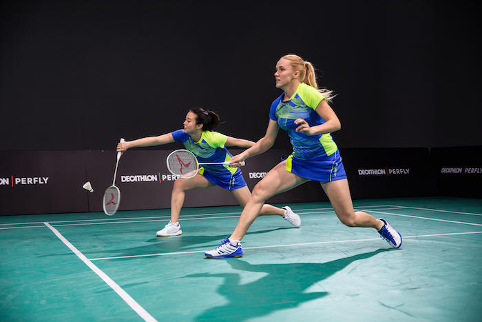 use match strategies in badminton