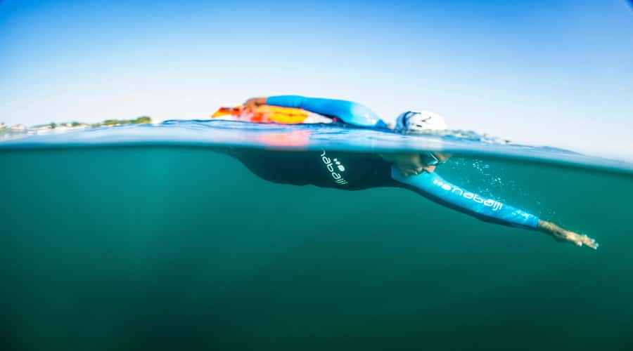 Open water swimming gear