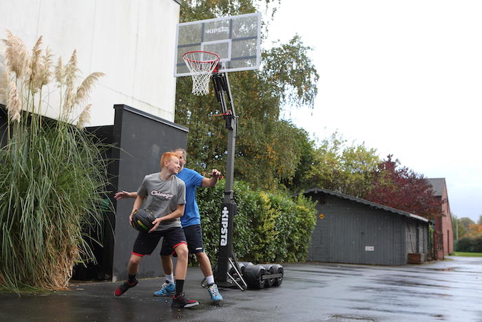 Basketball hoop for adults