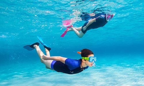 fins for snorkeling