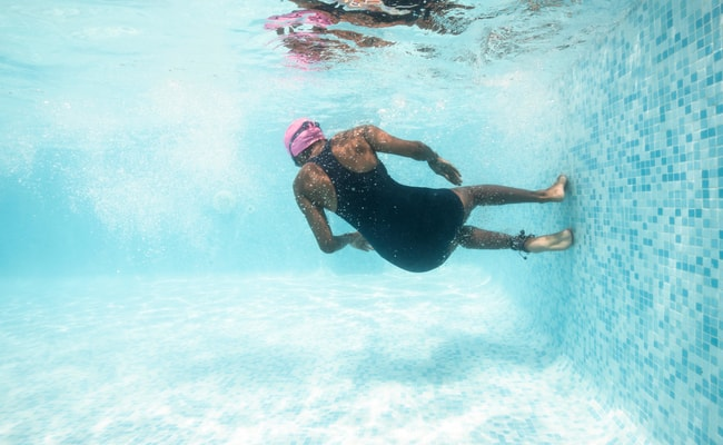 Swim to Combat Stress and Anxiety