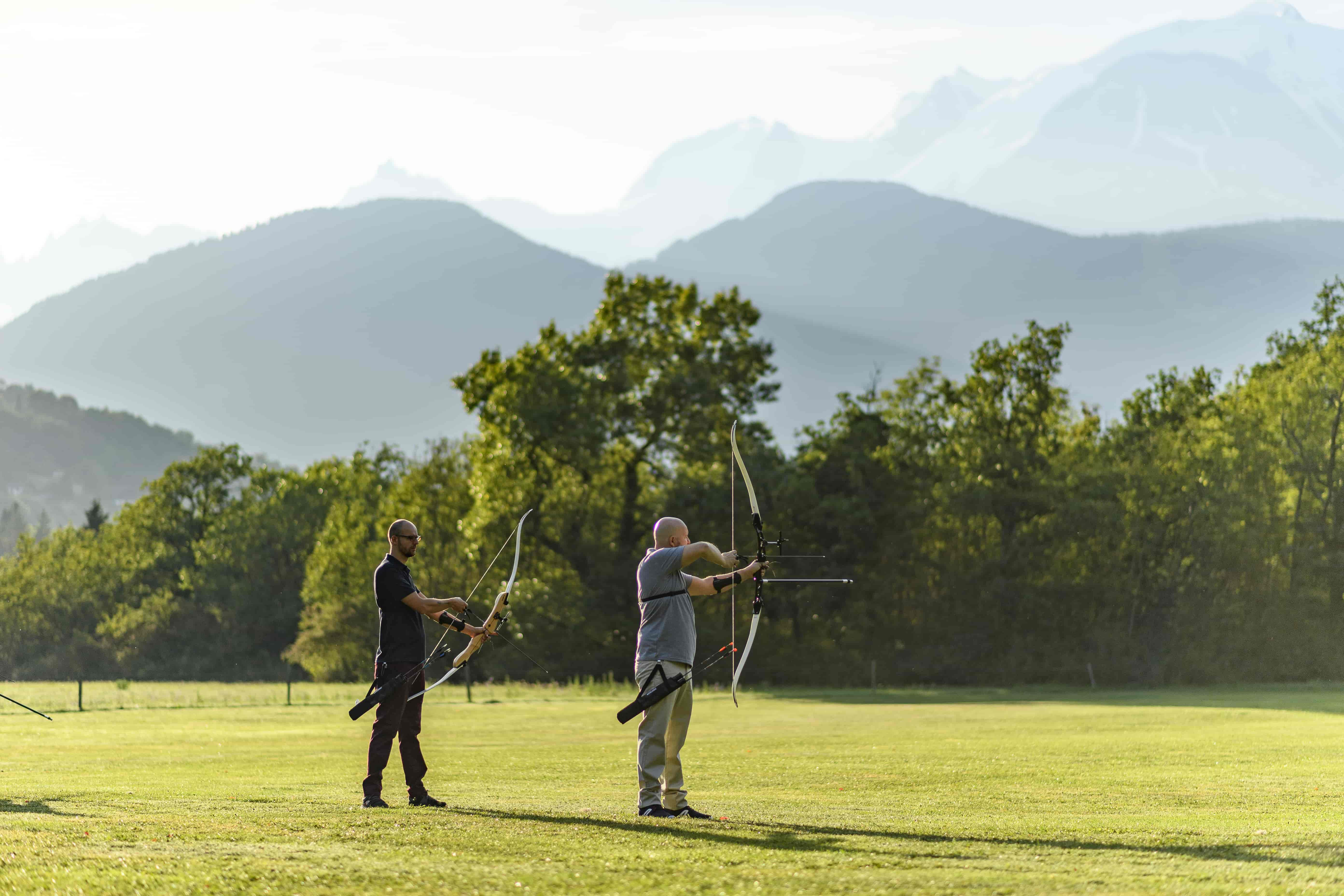 Where can you Practice Archery?