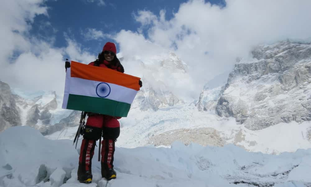 Everest Summit - Bhagyashree Declares Her Soul to the Mountains