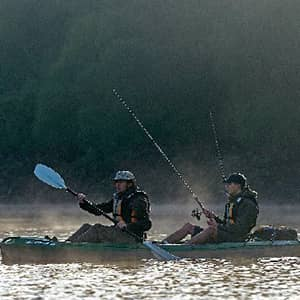 Two people in Kayak