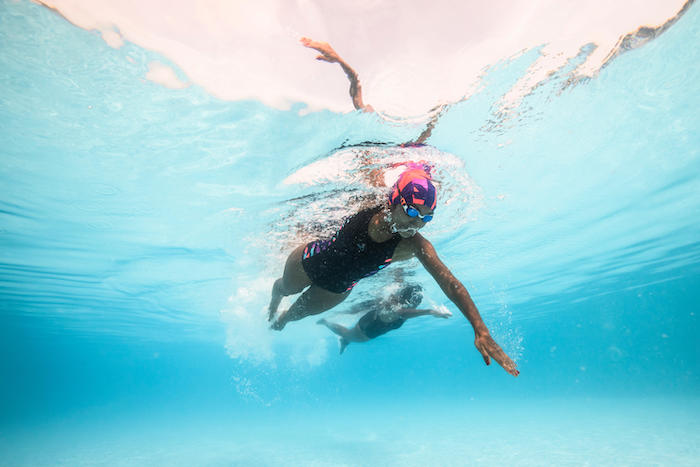 Swimming: Learn to Glide in Four Strokes
