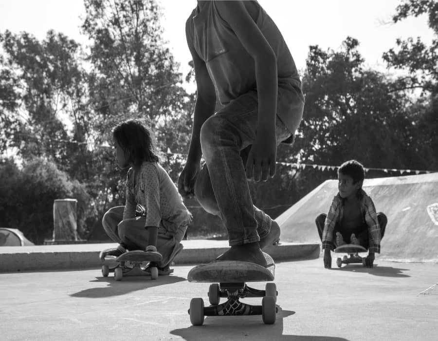 rural kids skating