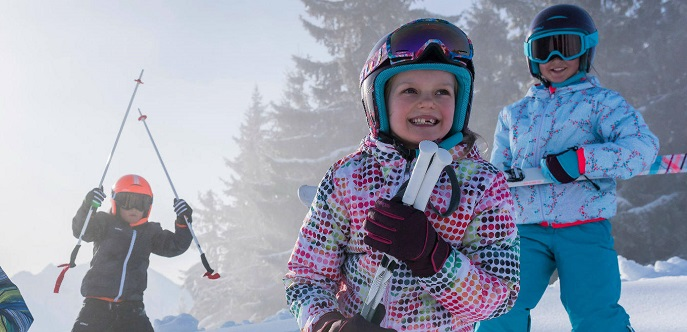 Skiing Holidays with Kids are Possible