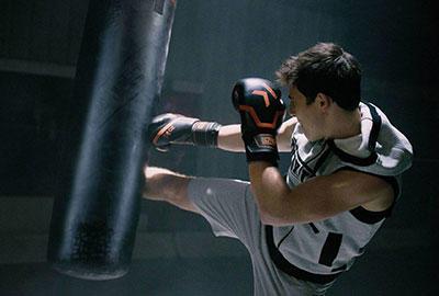 punching bag based on size